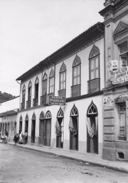 Sobrado antigo em São Luis do Paraitinga (SP) - 1955