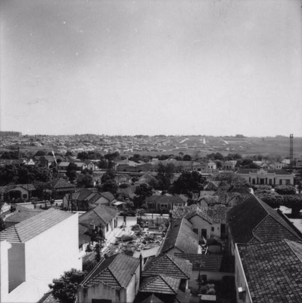Vista parcial da cidade de Macatuba (SP) - 1957