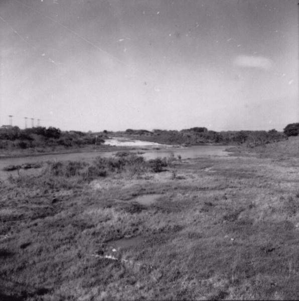 Salto do Avanhandava no Rio Tietê (SP) - 1957