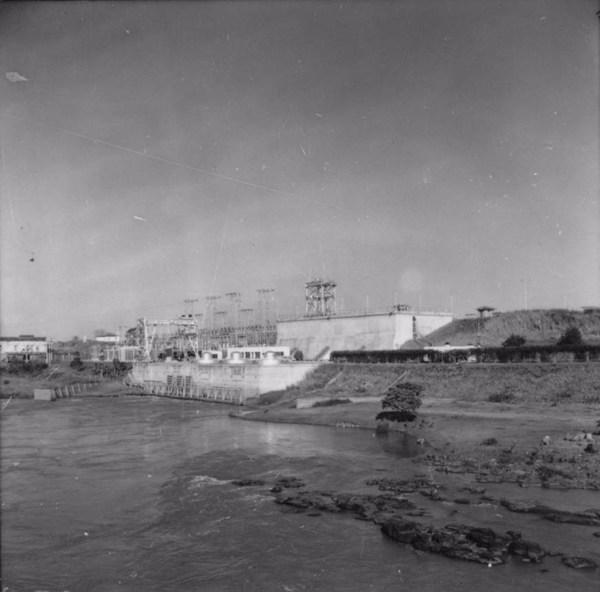 Usina elétrica do Avanhandava (SP) - 1957