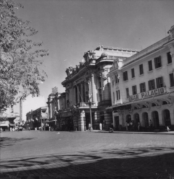 Praça XV de Novembro em Ribeirão Preto (SP) - 1957