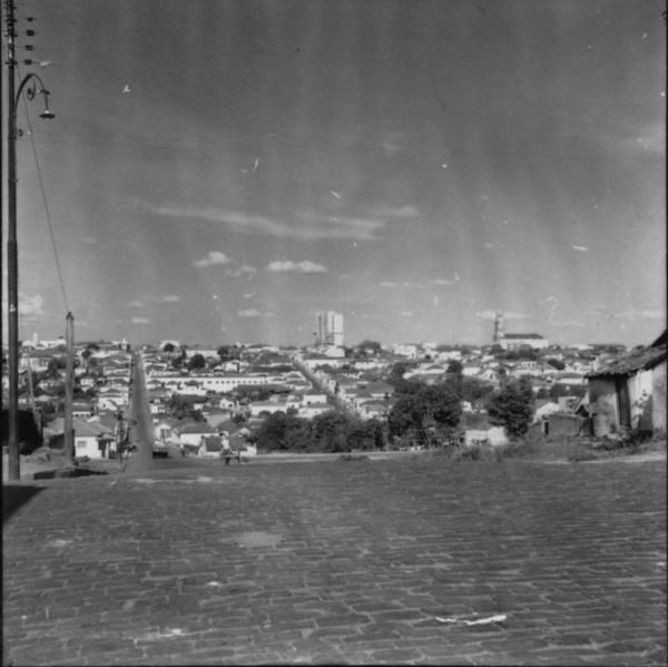 Vista da cidade Franca (SP) - 1957