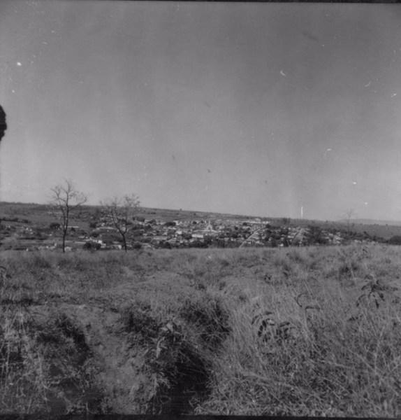 Vista do município de Patrocínio Paulista (SP) - 1957