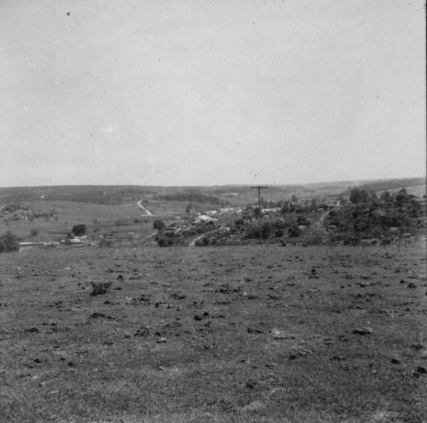 Vista da cidade de Galia (SP) - 1957