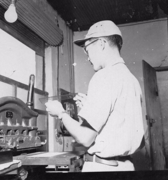 Fábrica de réguas Real em Marília (SP) - 1957