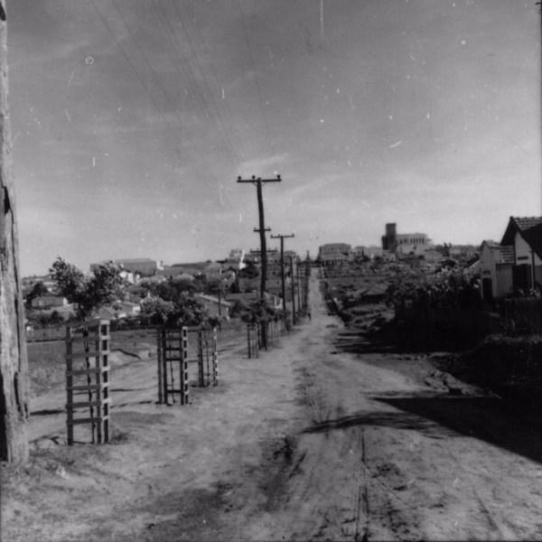 Vista do município de Adamantina (SP) - 1957