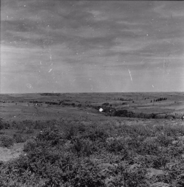 Relevo perto de Ouro Verde (SP) - 1957
