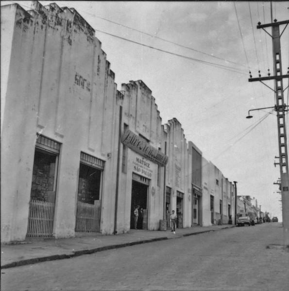 Armazém de cerais em Presidente Prudente (SP) - 1957