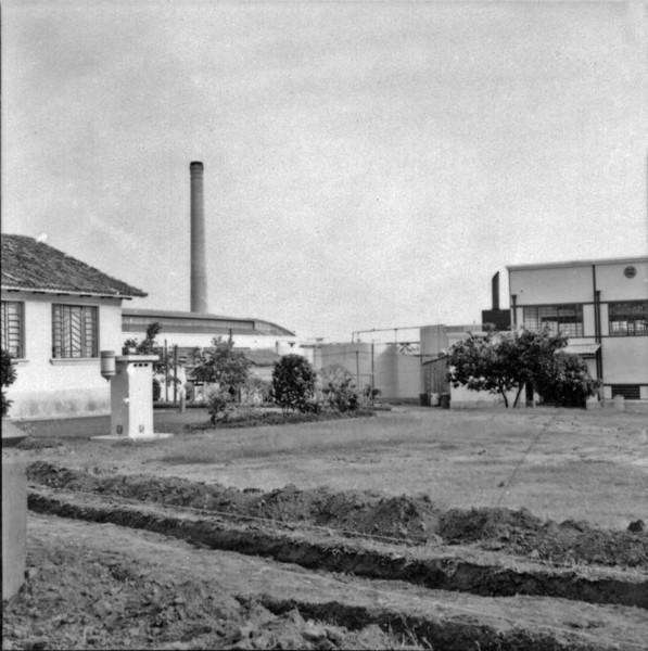 Fábrica de beneficiamento de algodão : SAMBRA : Município de Presidente Prudente (SP) - 1957