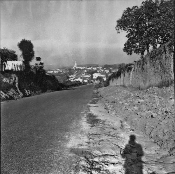 Vista parcial de Capivari (SP) - 1957