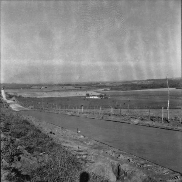 Cultura de cana : Município de Capivari (SP) - 1957