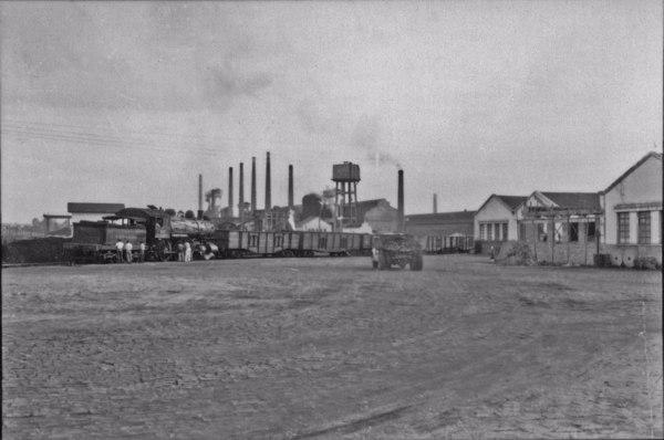 Produção de ferro : Mineração Geral do Brasil : Mogi das Cruzes (SP) - 1958
