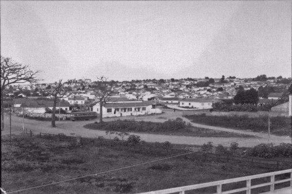 Aspecto parcial da cidade de São José dos Campos (SP) - 1958