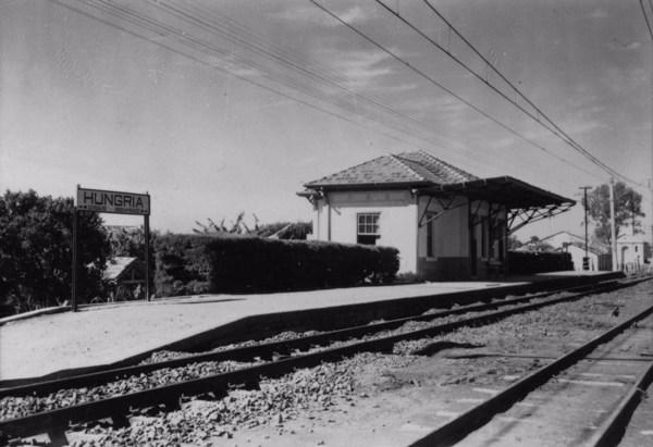 Estação da Hungria da E.F.S. : Município de Boituva (SP) - 1958