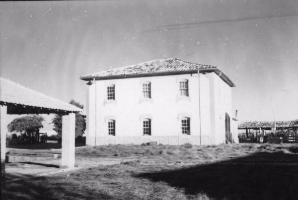Sede da fazenda Palmital, construída em 1940 (SP) - 1958
