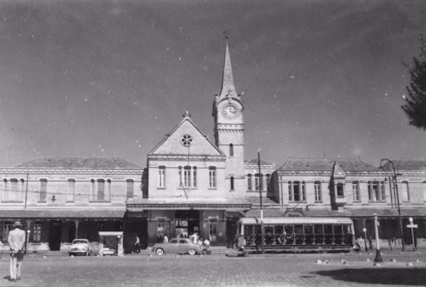 Estação no município de Campinas (SP) - 1958