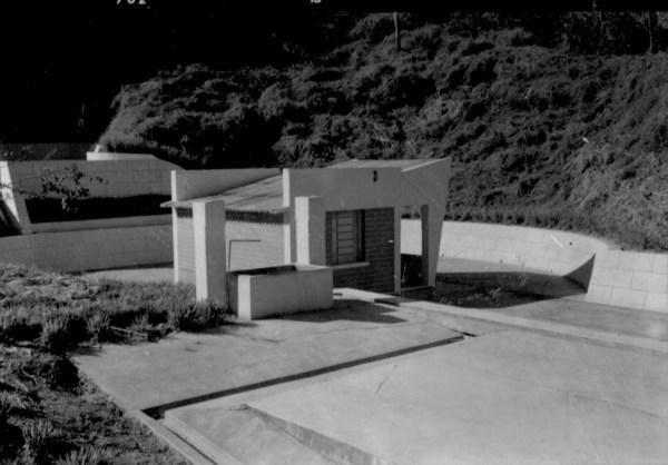 Fonte radiativa São Benedito na cidade de Lindóia (SP) - 1958