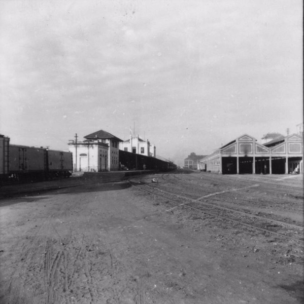 Estação Ferroviária de Cruzeiro : Município de Cruzeiro (SP) - s.d.