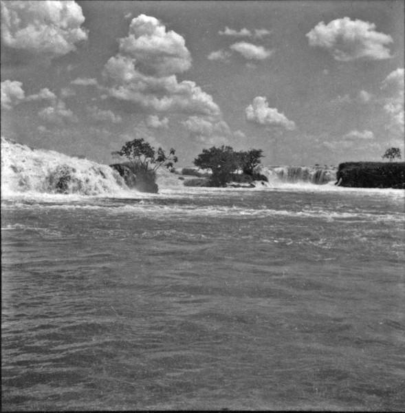 Salto Itapura no Tietê (SP) - 1960