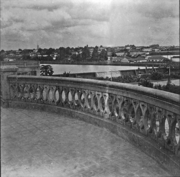 Represa de água do Rio Preto para abastecimento da cidade (SP) - 1960