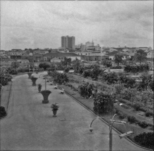Vista do centro da cidade de São José do Rio Preto (SP) - 1960