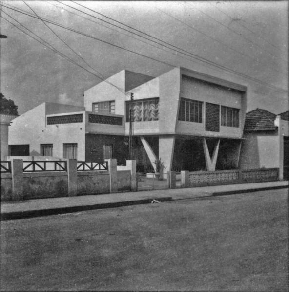 Casa moderna em Tanabí (SP) - 1960
