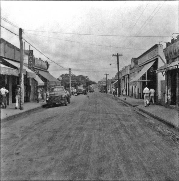 Centro da cidade de Votuporanga (SP) - 1960