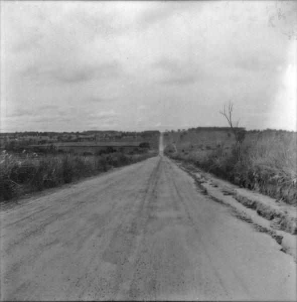 Relevo suave em Votuporanga (SP) - 1960
