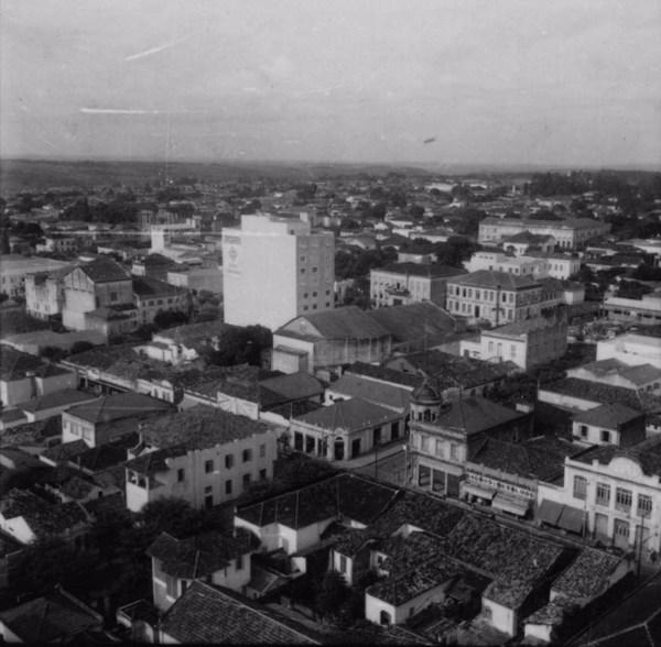Vista geral da cidade de Araraquara (SP) - 1960