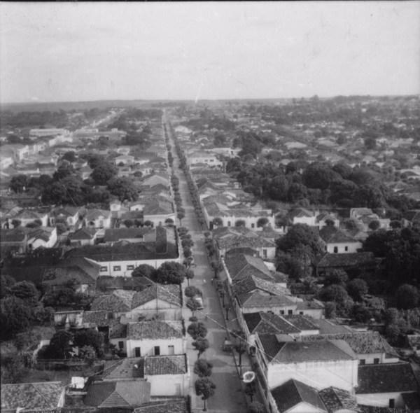 Rua Gonçalves Dias : Município de Araraquara (SP) - 1960