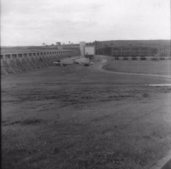 Casa de força e transformadores em Salto Grande (SP) - 1960