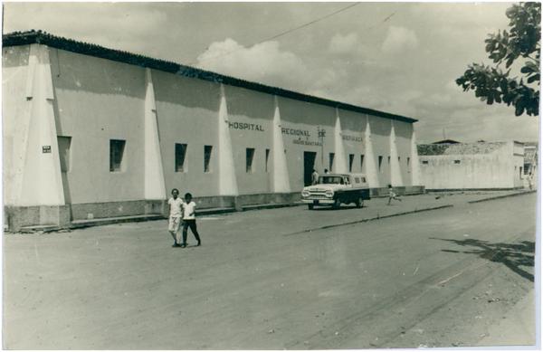 Rua São Francisco : Hospital Regional : Arapiraca, AL - [19--]