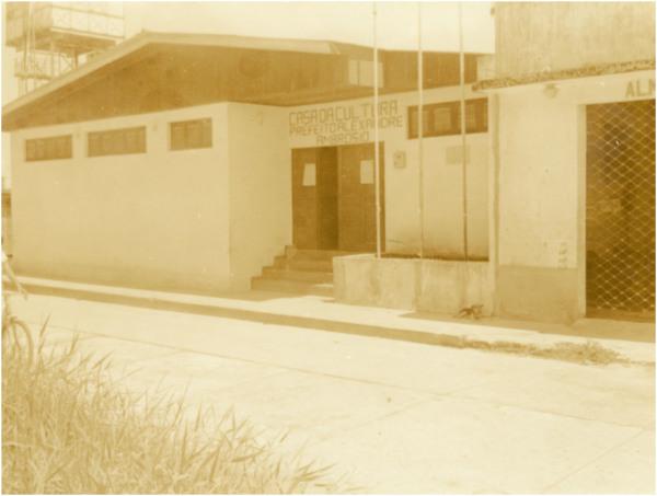 Casa da Cultura Prefeito Alexandre Ambrosio : Barcelos (AM) - [19--]