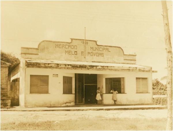 Mercado Municipal Melo e Póvoas : Barcelos (AM) - [19--]