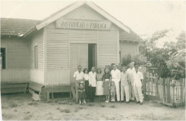 Escola pública : Careiro (AM) - 1957