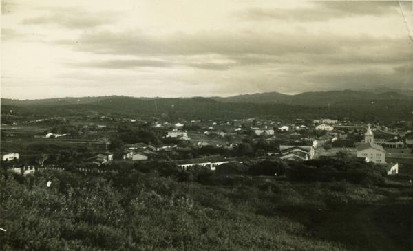 Vista parcial da cidade : Castro Alves, BA - 1957