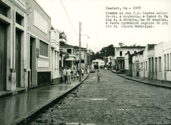 Rua J.J. Seabra : Coaraci, BA - 1967