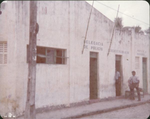 Delegacia de Polícia : Conde, BA - 1984