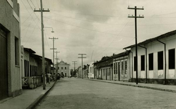 Rua Araújo Pinho : Conceição do Almeida, BA - 1957