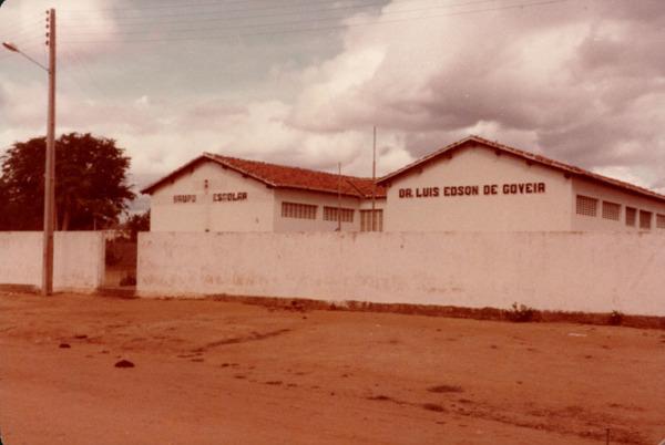 Escola Doutor Luiz Edson de Gouveia : Contendas do Sincorá, BA - [19--]