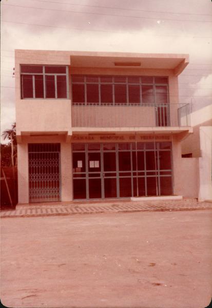 Câmara Municipal de Vereadores : centro de convenções : Contendas do Sincorá, BA - [19--]