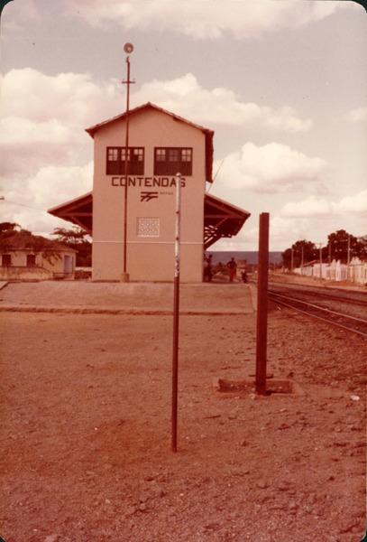 Estação ferróviária da RFFSA : Contendas do Sincorá, BA - [19--]