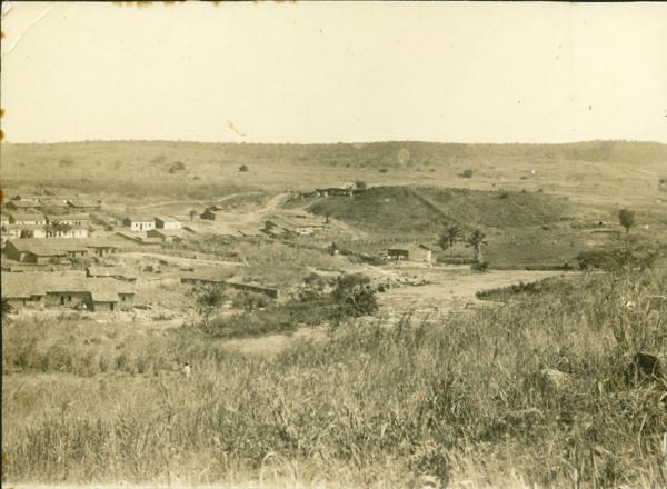 Vista parcial da cidade : Correntina, BA - 1936