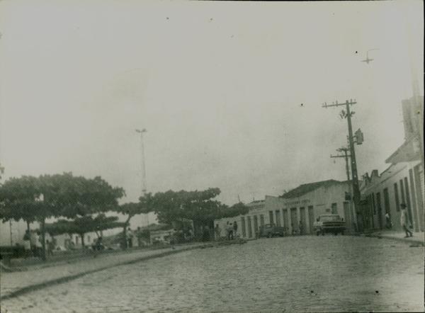 Praça José Dantas Farias : Dário Meira, BA - [19--]
