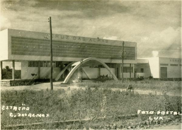 Estação ferroviária : Cruz das Almas, BA - [19--]