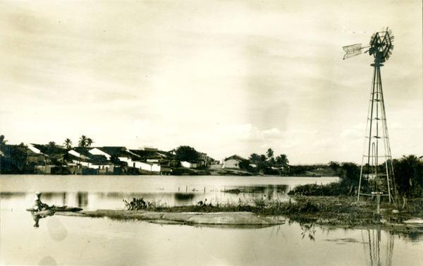 Açude municipal : Guanambi, BA - 1957