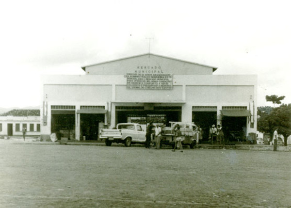 Mercado Municipal : Macarani, BA - [19--]