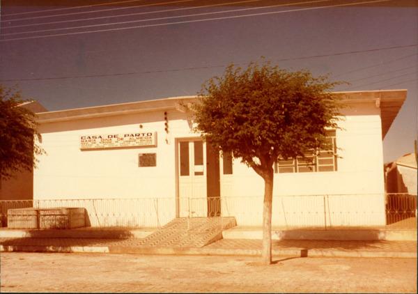 Casa de Parto Maria Dina de Almeida : Macururé, BA - [19--]