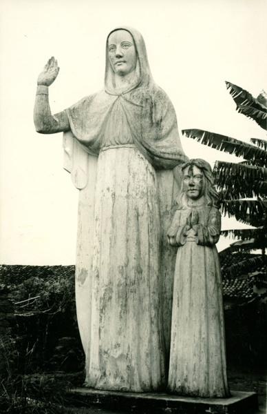 Estátua de Nossa Senhora Santana : Maracás, BA - 1957
