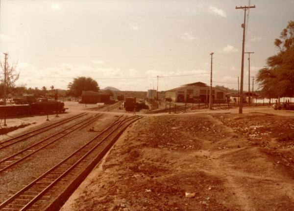 Estação Ferroviária da RFFSA : Iaçu, BA - [19--]